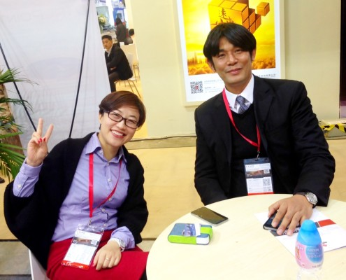 GrandCorp from China - VP Ms. Molly Hsu and Flexo Concepts - Asian Key Account Manager Steve Kao
