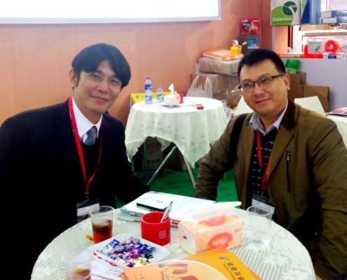 Flexo Concepts - Asian Key Account Manager Steve Kao and Guangzhou Ruijian Chamber - President Mr. Tong-Gang Hsieh