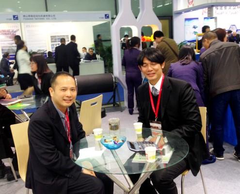 Ming Yang China - President Mr. Dang-Hon Hsieh and Flexo Concepts - Asian Key Account Manager Steve Kao