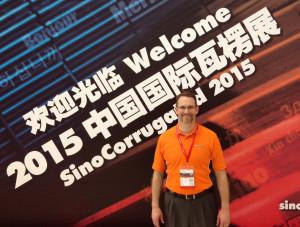 Kevin McLaughlin at SinoCorrugated 2015