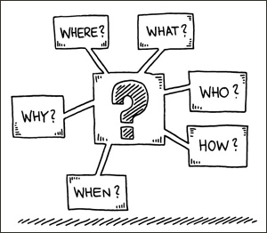 Ask Who, What, Where, How, When and Why with Consultative Selling