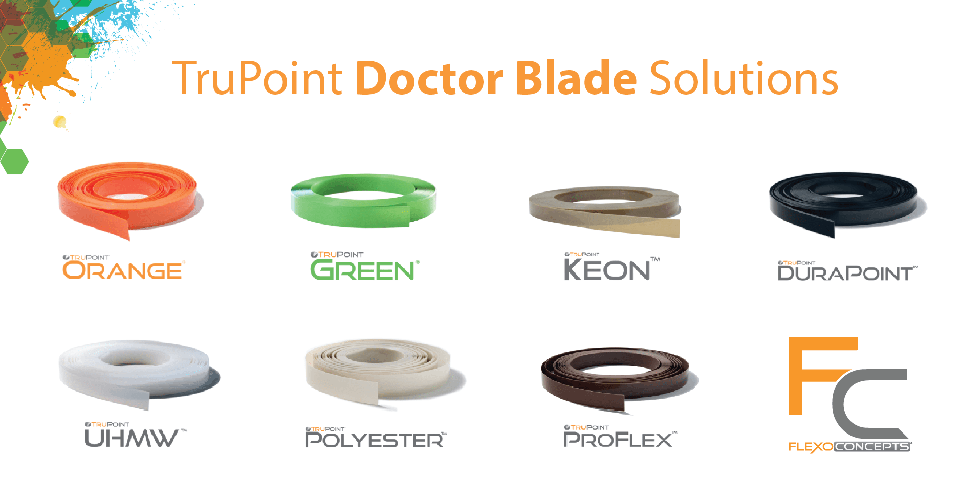 Products Amp Solutions Trupoint Doctor Blades Flexo Concepts